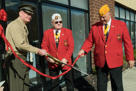 Marine Corps Ribbon Cutting
